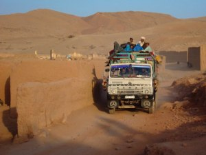 Afghan Jingle Truck