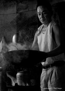 Back Street Cook B&W