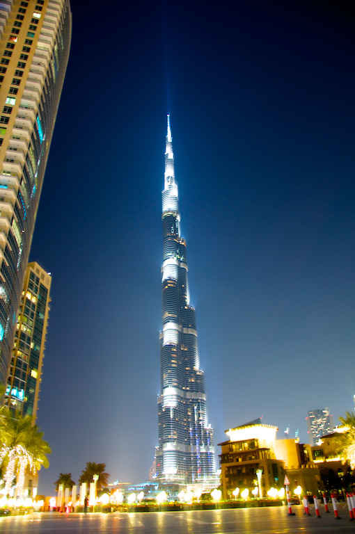 Burj Khalifa Tower - Dubai Nights