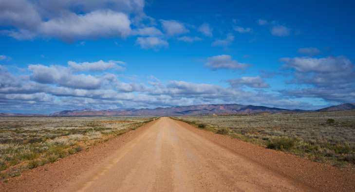 The Lonely Dirt Road